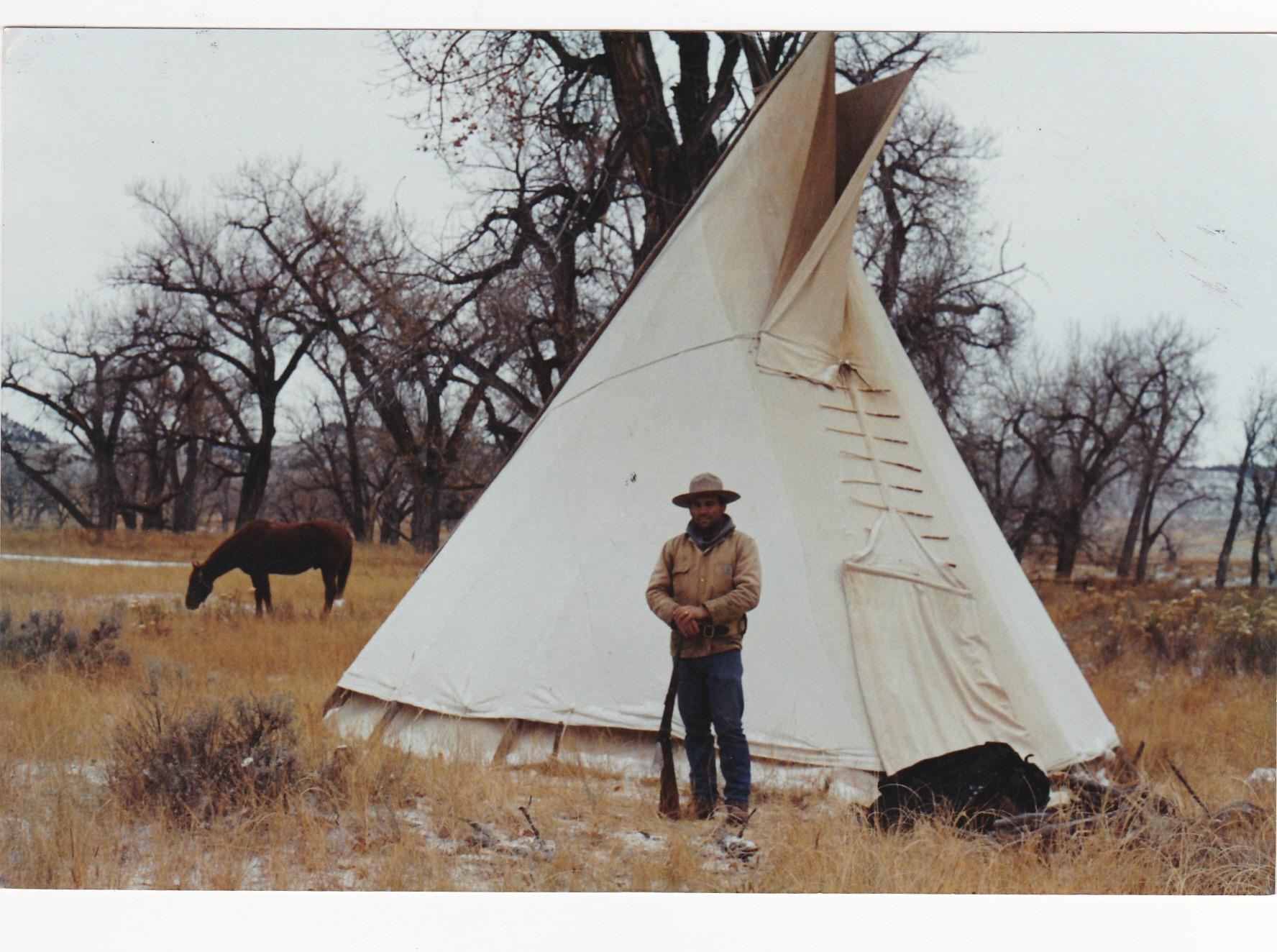 Montana_Buffalo_Hunt_Teepee